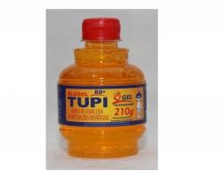 Alcool gel acendedor 210gr Tupi
