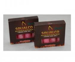 Bastonete de alcool solido 4 unidades Solialco